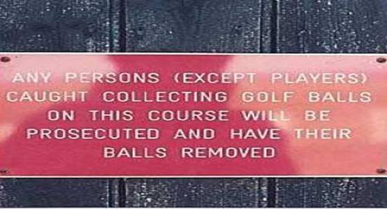 Balls' are even more important.